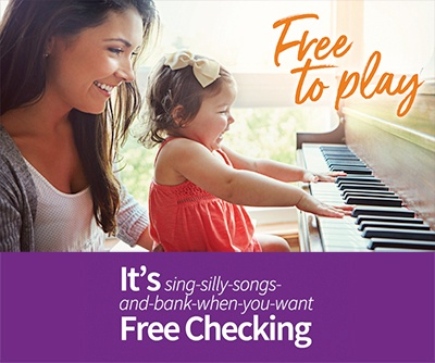 Free to play - It's sing-silly-songs-and-bank-when-you-want Free Checking